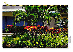Garden Landscape 4 In Abstract Carry-all Pouch