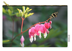 Carry-all Pouch featuring the photograph Garden Life by Gabriella Weninger - David