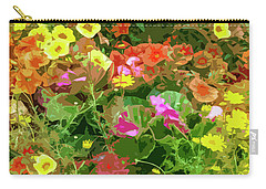 Garden Of Color Carry-all Pouch