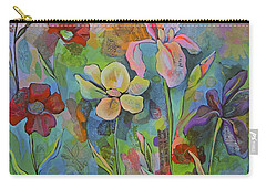 Garden Of Intention - Triptych Center Panel Carry-all Pouch by Shadia Derbyshire