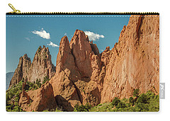 Carry-all Pouch featuring the photograph Garden Of The Gods by Bill Gallagher