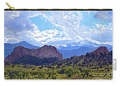Garden Of The Gods Carry-all Pouch by Catherine Sherman