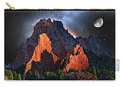 Garden Of The Gods Fantasy Art Carry-all Pouch by John Hoffman