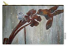 Garden Ornament-titmouse Carry-all Pouch