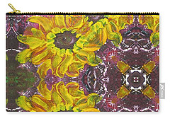 Garden Owls Carry-all Pouch by Maria Watt