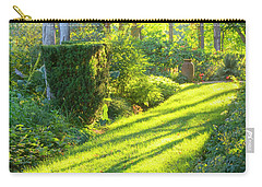 Carry-all Pouch featuring the photograph Garden Path by Tom Singleton