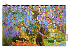 Garden Pathway Carry-all Pouch by Jenny Lee