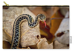 Garden Snake Carry-all Pouch by Eleanor Abramson