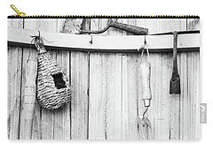 Carry-all Pouch featuring the photograph Garden Tools by Rebecca Cozart