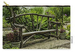 Garden Tree Bench Carry-all Pouch