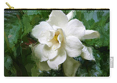 Gardenia Blossom Carry-all Pouch