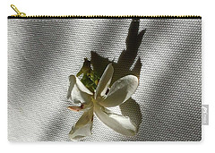Gardenia On Tablecloths  Carry-all Pouch