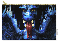 Carry-all Pouch featuring the photograph Gargoyle by Jim and Emily Bush