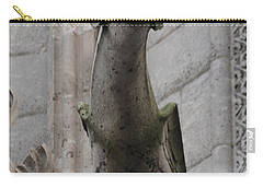 Gargoyle Notre Dame Carry-all Pouch by Christopher Kirby