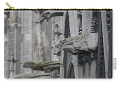 Gargoyles North Notre Dame Carry-all Pouch by Christopher Kirby