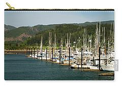 Garibaldi Oregon Marina Carry-all Pouch