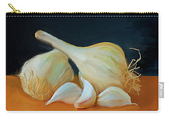 Garlic 01 Carry-all Pouch by Wally Hampton
