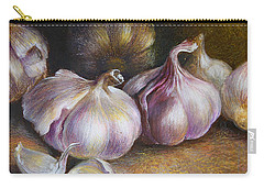 Garlic Painting Carry-all Pouch