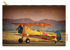 Gary Peters Boeing Stearman Kaydet 2016 Planes Of Fame Version 2 Carry-all Pouch