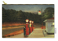 Gas  Carry-all Pouch by Edward Hopper