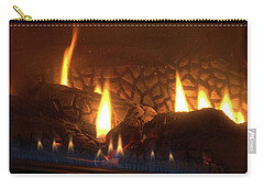 Gas Stove Flame Carry-all Pouch