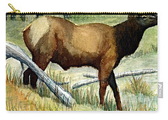 Gash Flats Bull Carry-all Pouch by Jimmy Smith
