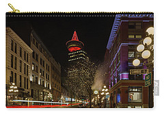 Gastown In Vancouver Bc At Night Carry-all Pouch