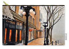 Gastown, Vancouver Carry-all Pouch by Sher Nasser