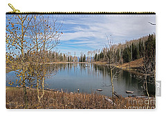Gates Lake Carry-all Pouch by Cindy Murphy - NightVisions
