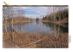 Gates Lake Ut Carry-all Pouch by Cindy Murphy - NightVisions