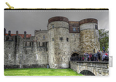 Gates To The Tower Of London Carry-all Pouch
