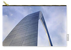 Carry-all Pouch featuring the photograph Gateway Arch - Grace - Saint Louis by Nikolyn McDonald