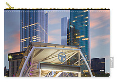 Carry-all Pouch featuring the photograph Gateway Station At Pittsburgh  by Emmanuel Panagiotakis
