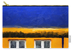 Carry-all Pouch featuring the digital art Gateways And Portals No. 3 by Serge Averbukh