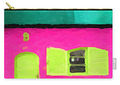 Carry-all Pouch featuring the digital art Gateways And Portals No. 4 by Serge Averbukh