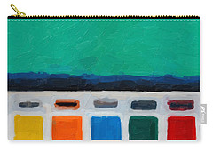 Carry-all Pouch featuring the digital art Gateways And Portals No.1 by Serge Averbukh