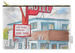 Gatewood Motel In Las Vegas, Nevada Carry-all Pouch