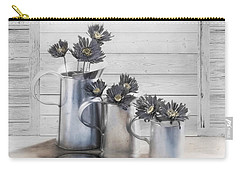 Carry-all Pouch featuring the photograph Gather by Robin-Lee Vieira