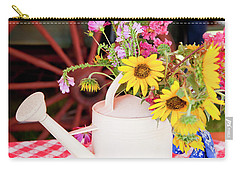 Gathered From The Trail Carry-all Pouch by Toni Hopper