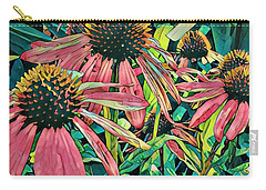 Gathering Of Coneflowers Carry-all Pouch