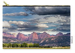 Gathering Storm Over The Fingers Of Kolob Carry-all Pouch