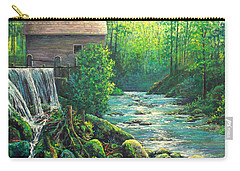 Gatlinburg  Tenessee Mill Carry-all Pouch