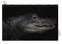 Gator In Black Carry-all Pouch