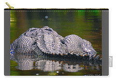 Gator On Ninja Cam Carry-all Pouch