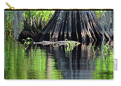 Carry-all Pouch featuring the photograph Wild Florida by Carol Bradley
