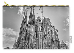 Gaudi La Sagrada Blk Wht Carry-all Pouch
