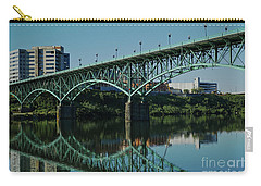 Carry-all Pouch featuring the photograph Gay Street Bridge by Douglas Stucky