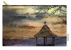 Gazebo And Lake  Carry-all Pouch by R Kyllo