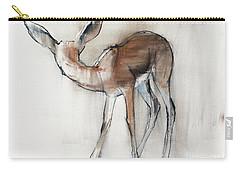Gazelle Fawn  Arabian Gazelle Carry-all Pouch