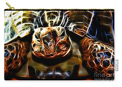 Gazing Turtle Carry-all Pouch by Mariola Bitner